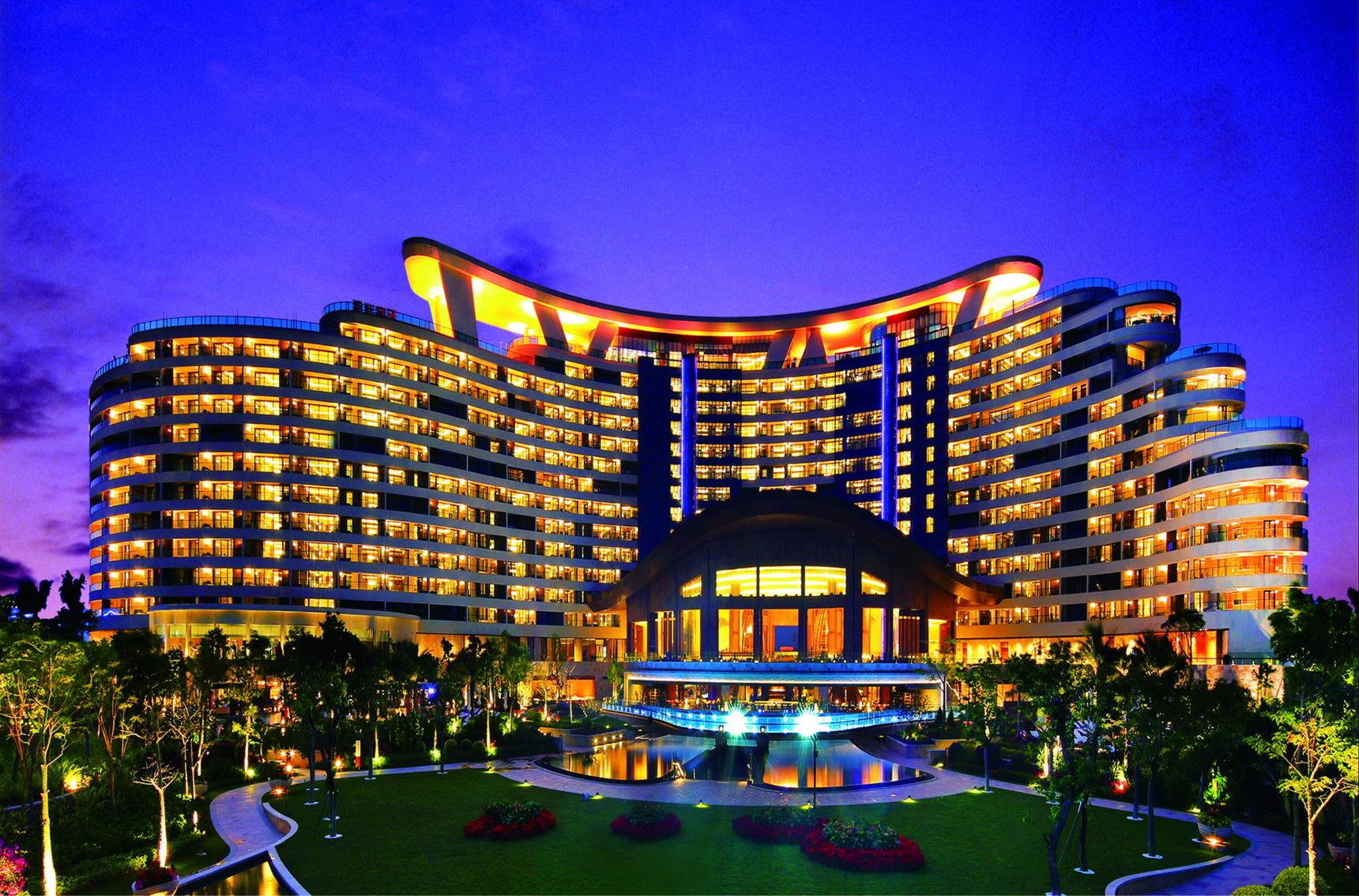 海棠湾洲际酒店夜景