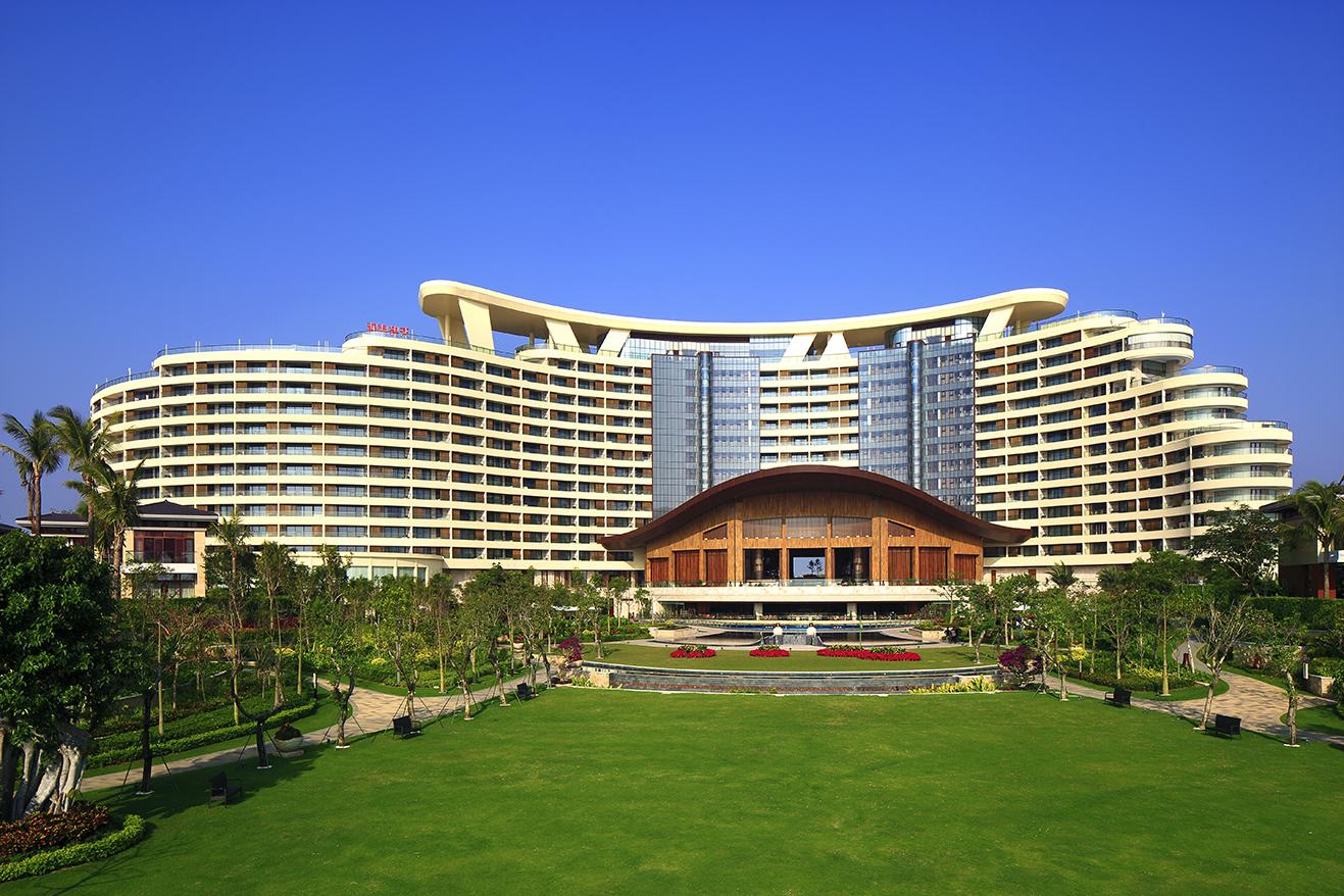 万和城平台账号承建项目-三亚海棠湾天房洲际度假酒店日景.jpg